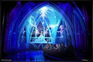 'Frozen Ever After' Attraction